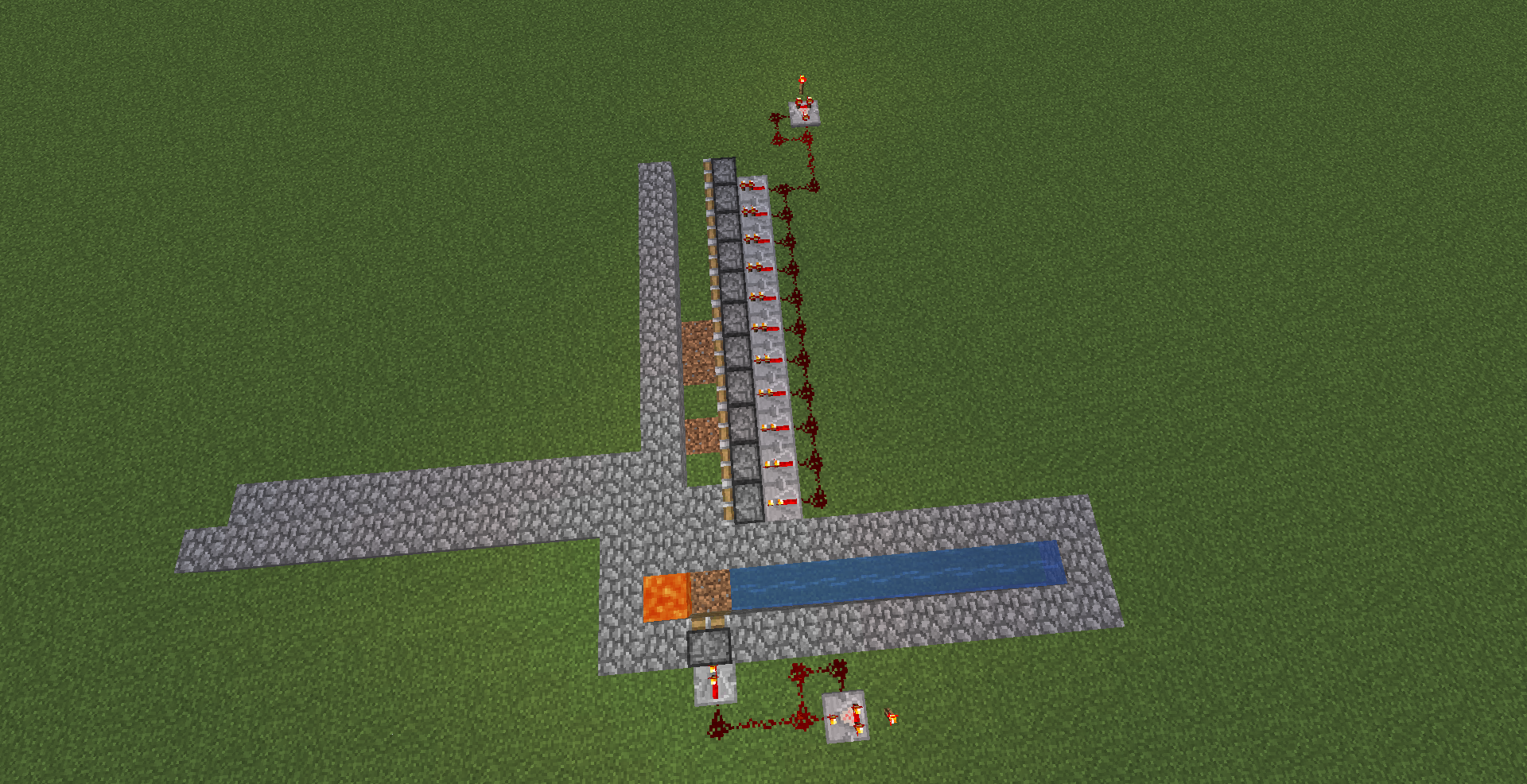 Come creare una farm di cobblestone automatica su Minecraft